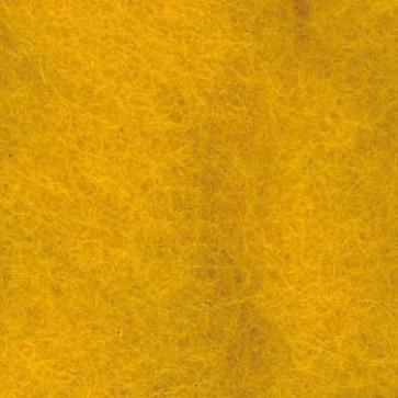 Wolle zum Filzen dunkelgelb 50 g