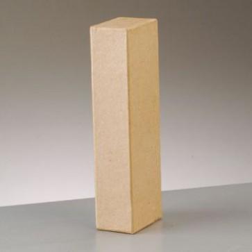 Pappbuchstabe I H 17,5 x B 3,5 x T 5,5 cm