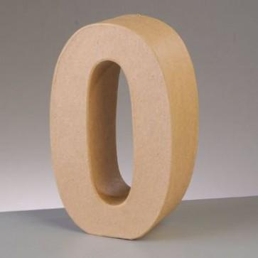 Pappzahl - 0 - H 10 x B 6,4 x T 3 cm