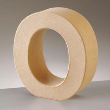 Pappbuchstabe O H 10 x B 9,3 x T 3 cm