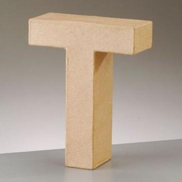Pappbuchstabe T H 10 x B 8,1 x T 3 cm