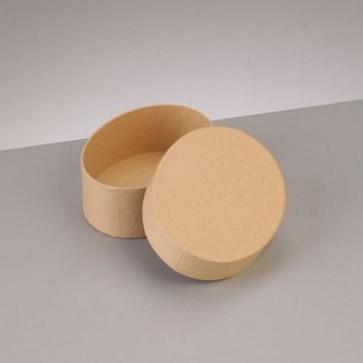Box Oval flach 8,5 x 6,5 x H 3,1 cm