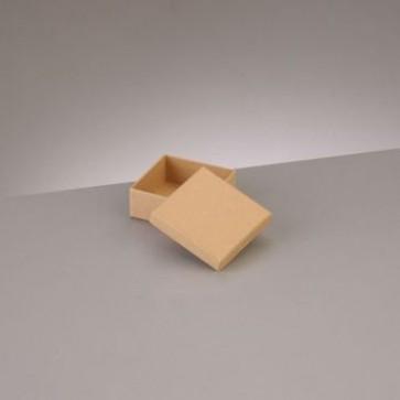 Box Quadrat flach 6,5 x 6,5 x H 2,7 cm