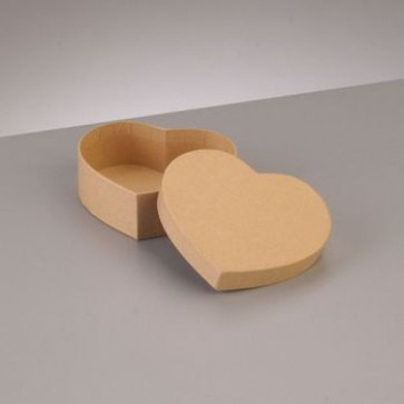 Box Herz flach 10,5 x 9 x H 3,6 cm