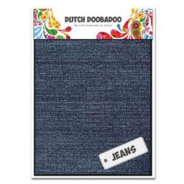 Dutch Doobadoo Jeans medium A5 2 Stk. mittelblau