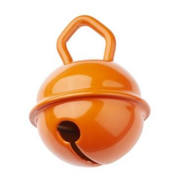 Schnulli-Glöckchen/Schelle 15mm, apricot, 2 St.