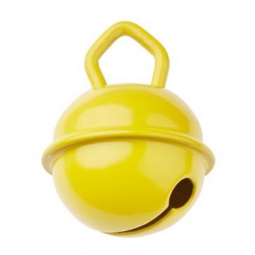 Schnulli-Glöckchen/Schelle 15mm, gelb, 2 St.