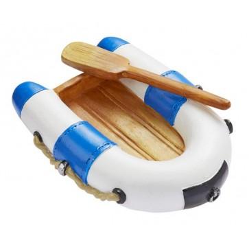 Schlauchboot blau weiß 7,5cm
