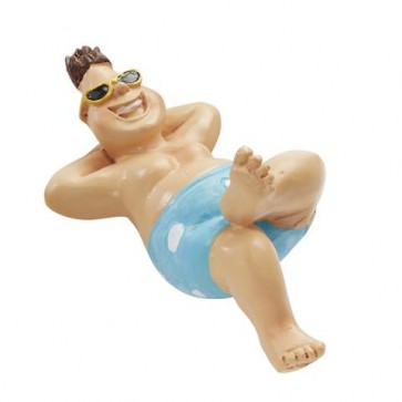 Bade-Urlauber für Liegestuhl ca. 6 cm