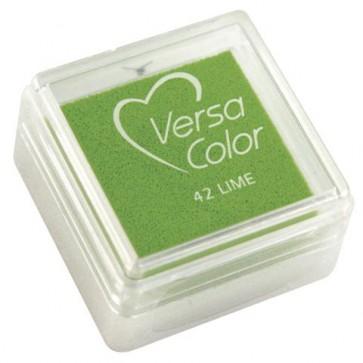 Stempelkissen  Versacolor , giftgrün, Stempelfläche 2,5x2,5 cm