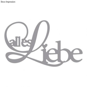 Stanzschabl. : alles Liebe, SB-Btl 1Stück