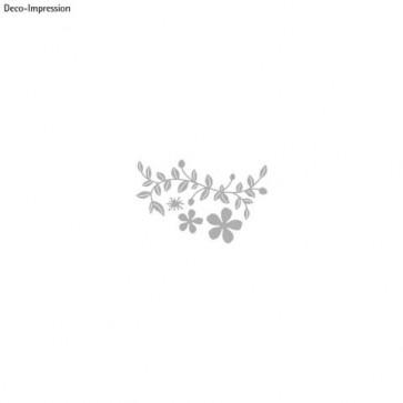 Stanzschablone: Vine with Flowers, 1,5-11,5cm, SB-Btl 1Stück