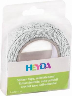 SpitzenTape 100% Baumwolle weiß
