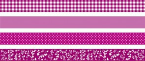 Deko Tape Colour Code 4er pink