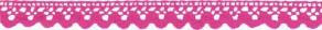 SpitzenTape 100% Baumwolle pink