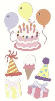 Sticker Mix Geburtstag
