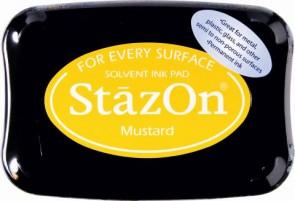 Stempelkissen StazOn mustard 6x9,5cm