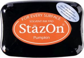 Stempelkissen StazOn pumpkin 6x9,5cm