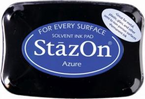 Stempelkissen StazOn azure 6x9,5cm