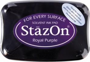 Stempelkissen StazOn royal purple 6x9,5cm