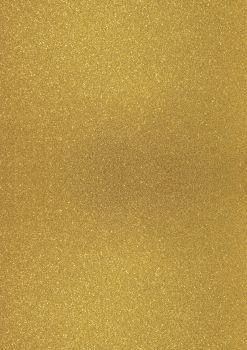 GlitterkartonA4 200g dunkelgold