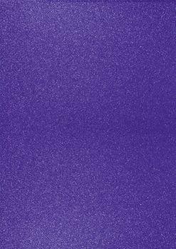 GlitterkartonA4 200g d.violett