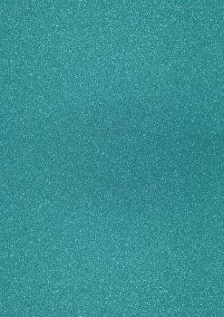 GlitterkartonA4 200g preußischblau