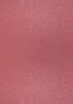 GlitterkartonA4 200g koralle