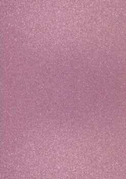 GlitterkartonA4 200g hellrosa