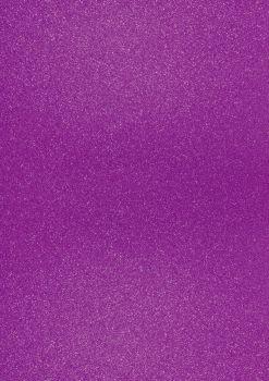 GlitterkartonA4 200g violett