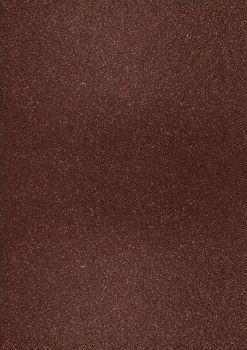 GlitterkartonA4 200g mocca