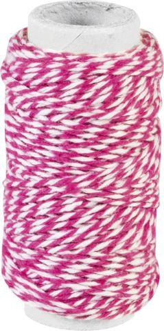 Dekoschnur pink 20m