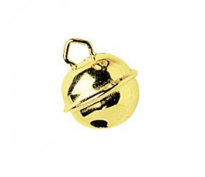 Metallglöckchen gold 24 mm