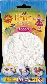 Hama Bügelperlen 1000 Stck. weiß