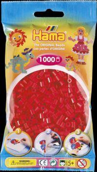 Hama Bügelperlen 1000 Stck. rot