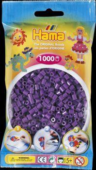 Hama Bügelperlen 1000 Stck. lila