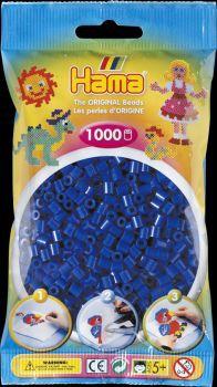 Hama Bügelperlen 1000 Stck. blau