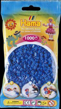 Hama Bügelperlen 1000 Stck. hellblau