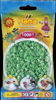 Hama Bügelperlen 1000 Stck. hellgrün