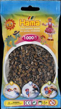 Hama Bügelperlen 1000 Stck. braun