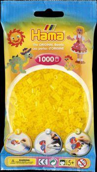 Hama Bügelperlen 1000 Stck. transp.gelb