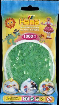 Hama Bügelperlen 1000 Stck transp.grün