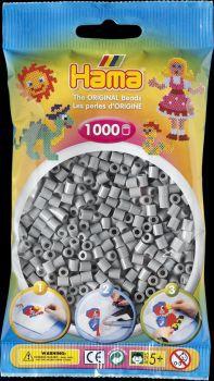 Hama Bügelperlen 1000 Stck. grau