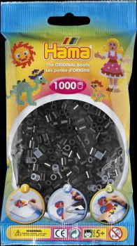 Hama Bügelperlen 1000 Stck. schwarz