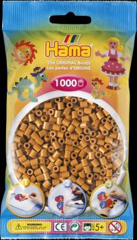 Hama Bügelperlen 1000 Stck hellbraun