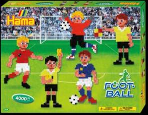 Hama Bügelperlen-Set Fußball