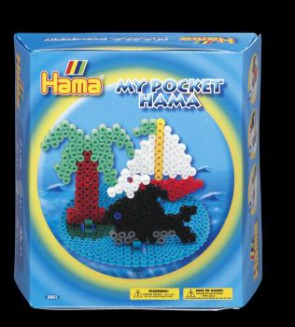 Ham Bügelperlen-Set, My Pocket Insel