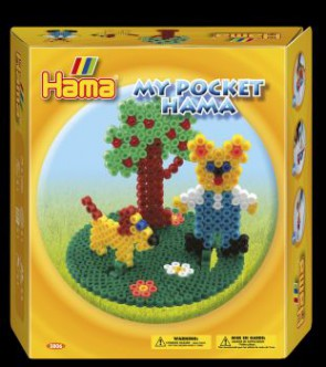 Hama Bügelperlen-Set, My Pocket Teddy und Hund