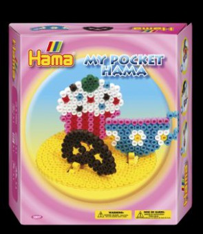 Hama Bügelperlen-Set, My Pocket Cupcake