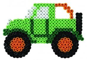 Hama Bügelperlen-Set Fahrzeuge